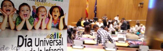Día de la Infancia 2014. Imagen de la Plataforma de Infancia (POI).