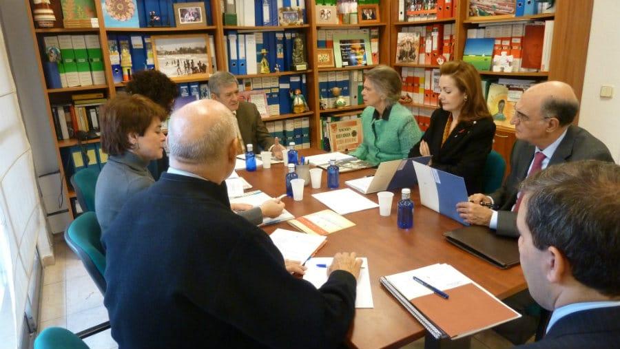 Reunión del Patronato de la FYME. Diciembre 2014.