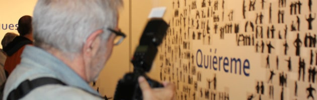 Detalle de la exposición La Ciudad Soñada