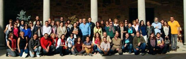 Foto de familia de los asistentes al Encuentro MUS-E Magalia 2014