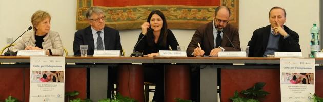 Mesa presidencial del encuentro MUS-E Roma: El arte de la integración