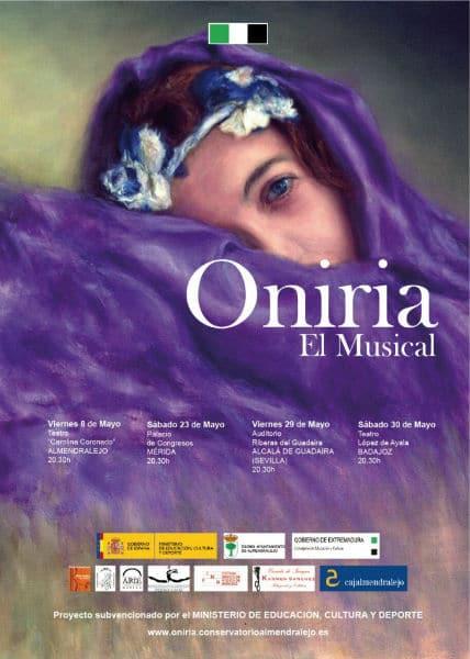 Cartel de Oniria, el musical