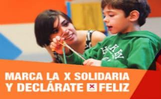 Marca tu 'X Solidaria' por la infancia en la Renta 2015