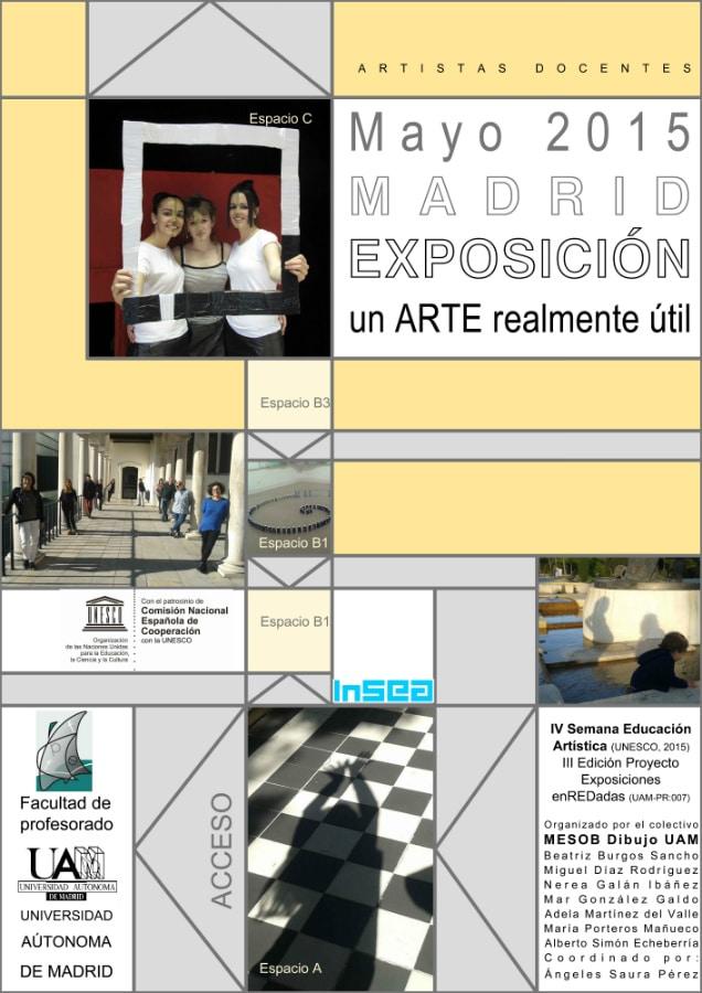 Cartel de la exposición de la UAM