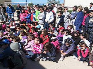 Día de la Familia MUS-E en el CEIP San Bernabé. Foto del CEIP San Bernabé. 2013.