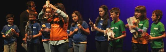 Niños y niñas de Velilla de San Antonio celebraron su Día MUS-E 2015