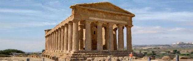 Templo de la Concordia, en Agrigento, Sicilia