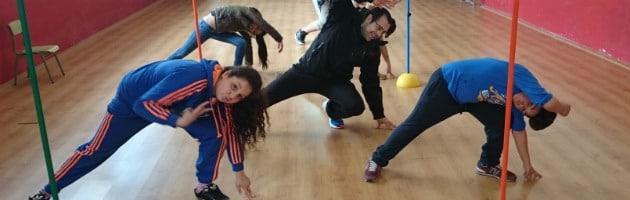 Capoeira en el curso MUS-E Extremadura 2014-2015