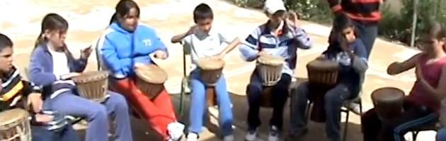 Taller de percusión MUS-E en el CEIP San Bernabé de Trijueque