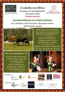 II Jornada Solidaria A Caballo con África