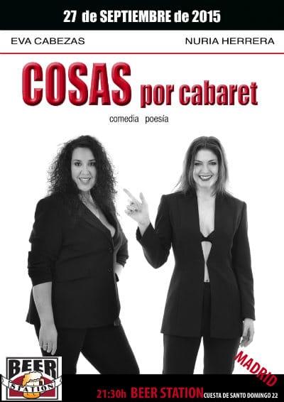 Cartel de Cosas por Cabaret