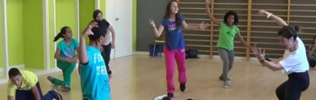 Alumnos MUS-E en la Escola El Prat de Llobregat I