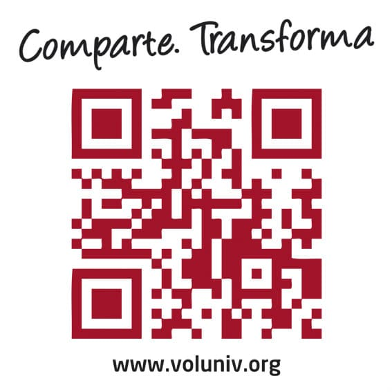 Comparte, transforma... por el voluntariado universitario