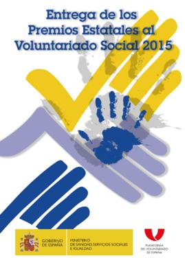 Premios estatales al voluntariado social 2015 fundaci n yehudi menuhin espa a - Voluntariado madrid comedores sociales ...
