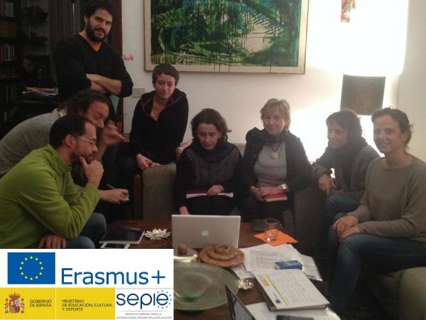 Reunión de planificación Integr-Arte Erasmus+ en Roma