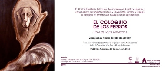Invitacion Coloquio Perros Sofia Gandarias