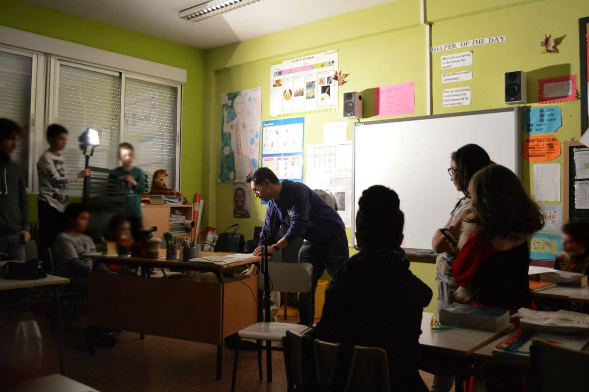 Arte para la Motivación visita el CEIP Miguel Hernández de Madrid