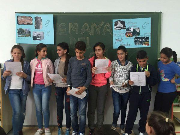 Cuento compuesto las alumnas y alumnos del CEIP El Cristo de Villanueva de la Serena en homenaje a Menuhin.