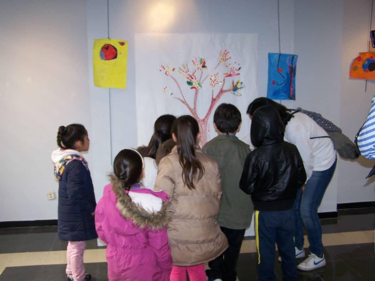 Exposición colectiva por el Día MUS-E del CEIP García Morente de Madrid.