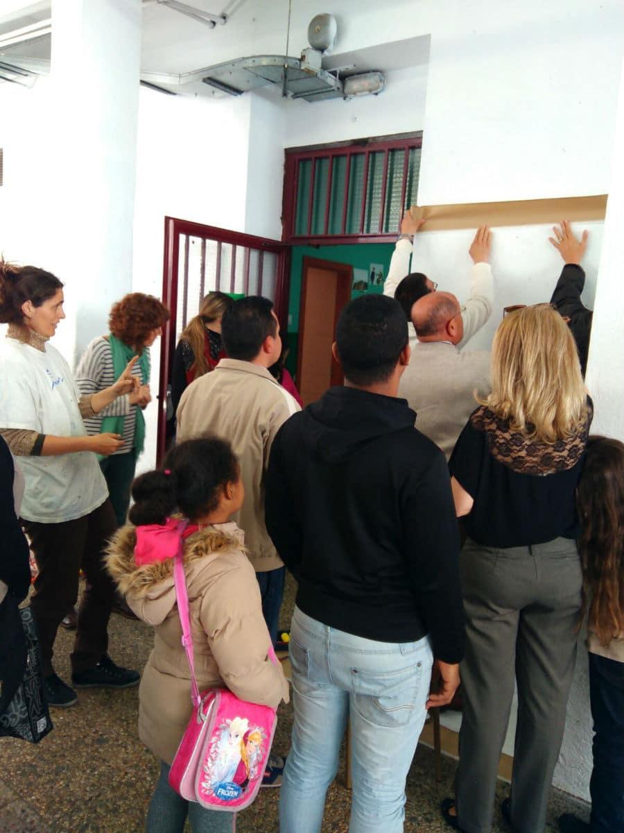 Taller MUS-E de padres y madres en el CEIP Joaquín Dicenta de Madrid