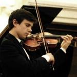 Pablo Ventero interpretó a Mozart al violín.