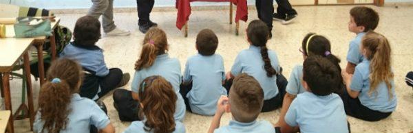 Sesión MUS-E en el CEIP Nieves Toledo de Arrecife