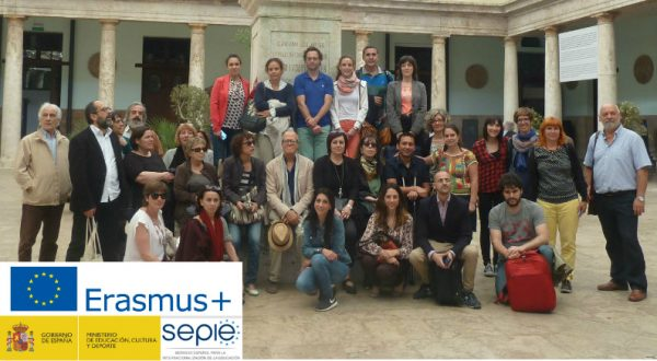I Encuentro Internacional Integr-Arte Erasmus+ en Paterna