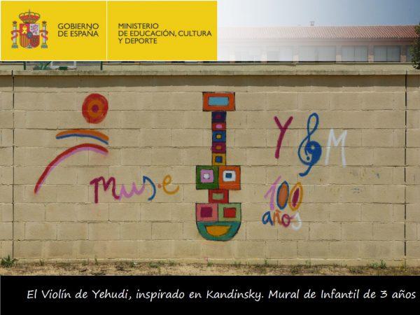 Violines por la Paz en el CEIP Menéndez Pidal de Sevilla