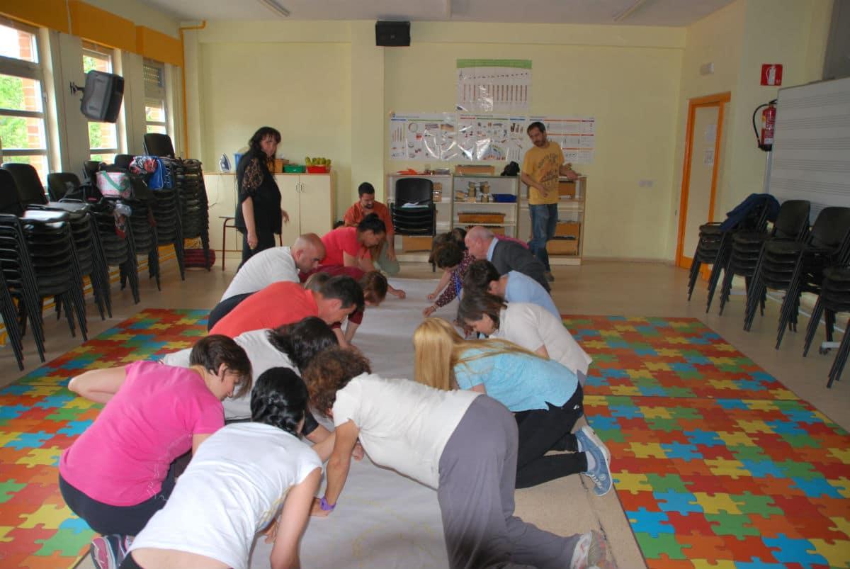 Sesión MUS-E para docentes y familias del CEIP Séneca de Parla