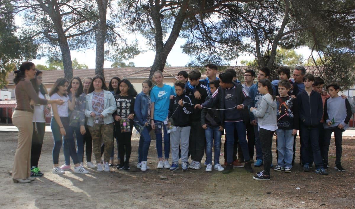 Sesión de fin de curso MUS-E en el IES Enrique Tierno Galván de Leganés