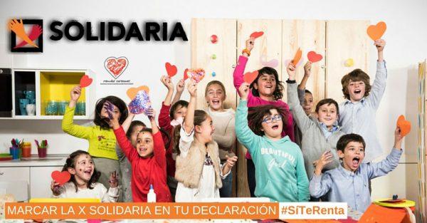 """La infancia, una prioridad para la casilla """"X Solidaria"""" de la Renta"""