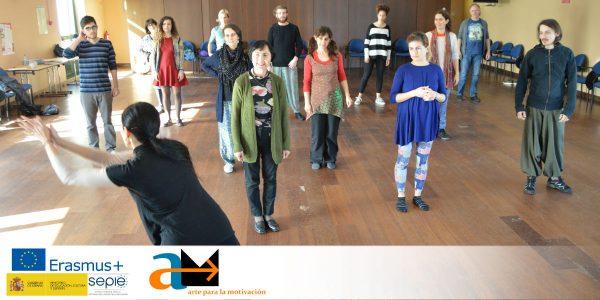 Arte para la Motivación en Portugal: taller de Carmen Arribas