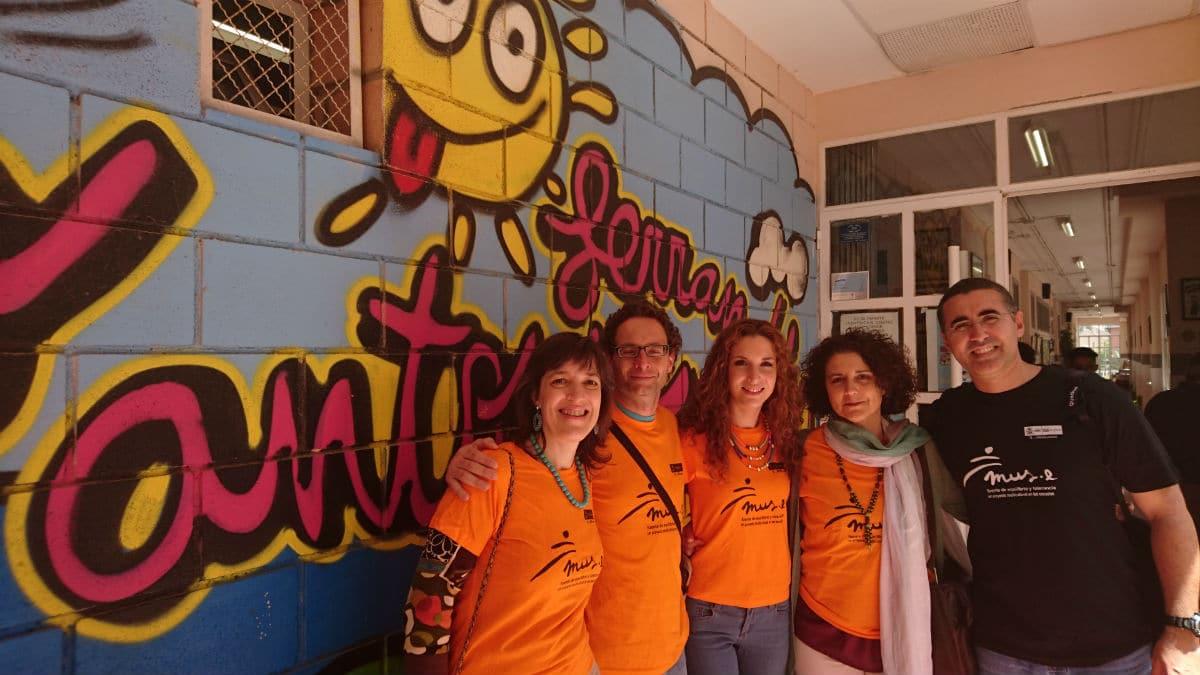 Trabajo en equipo en un encuentro internacional: FYME y Badajoz
