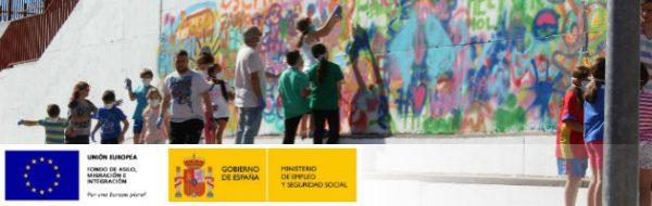 Acción Poética del IES Tierno Galván en el CEIP Quevedo de Leganés