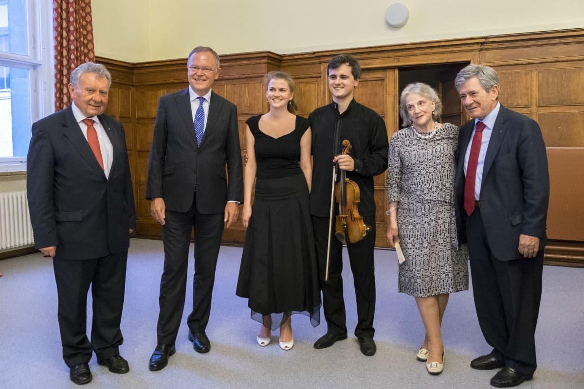 Werner Schmitt, Stefan Weil, Inna Firsova, Aleksey Semnenko, Zamira Menuhin y Enrique Barón.
