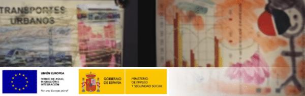Usando el escáner en Leganés, curso MUS-E 2015-2016