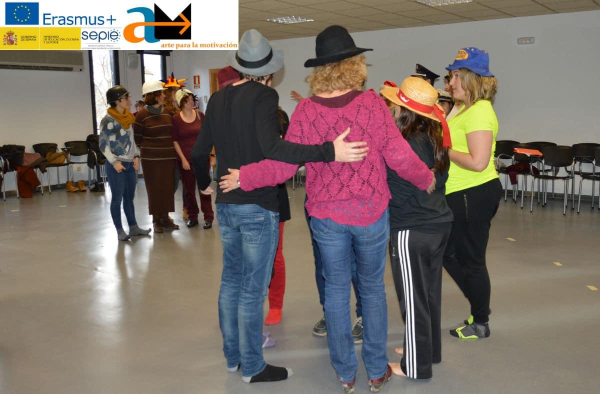 Imagen del taller de Hungría en el I Encuentro Arte para la Motivación en España