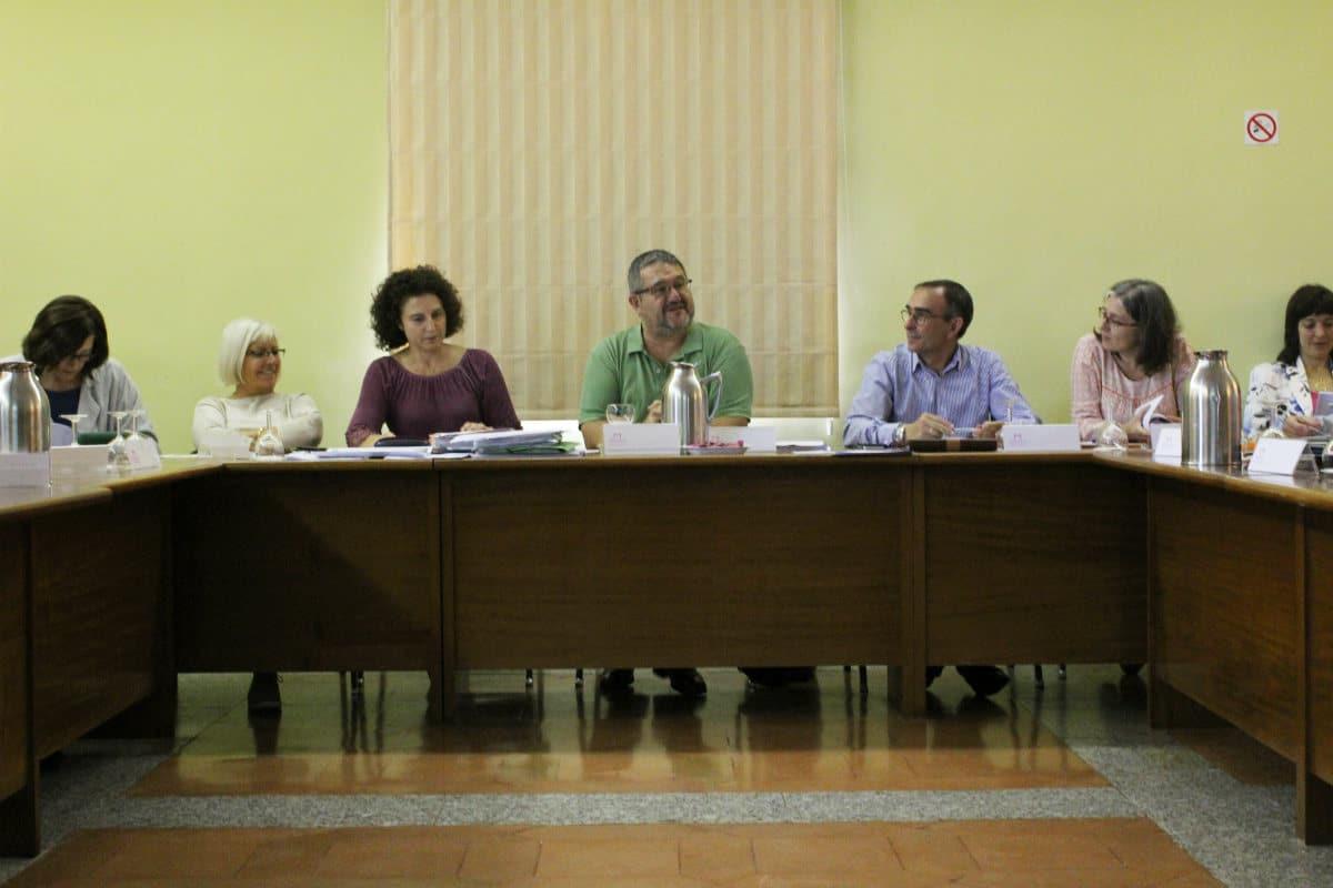 Evaluación MUS-E 2015-2016, con Carlos Peláez (en el centro)