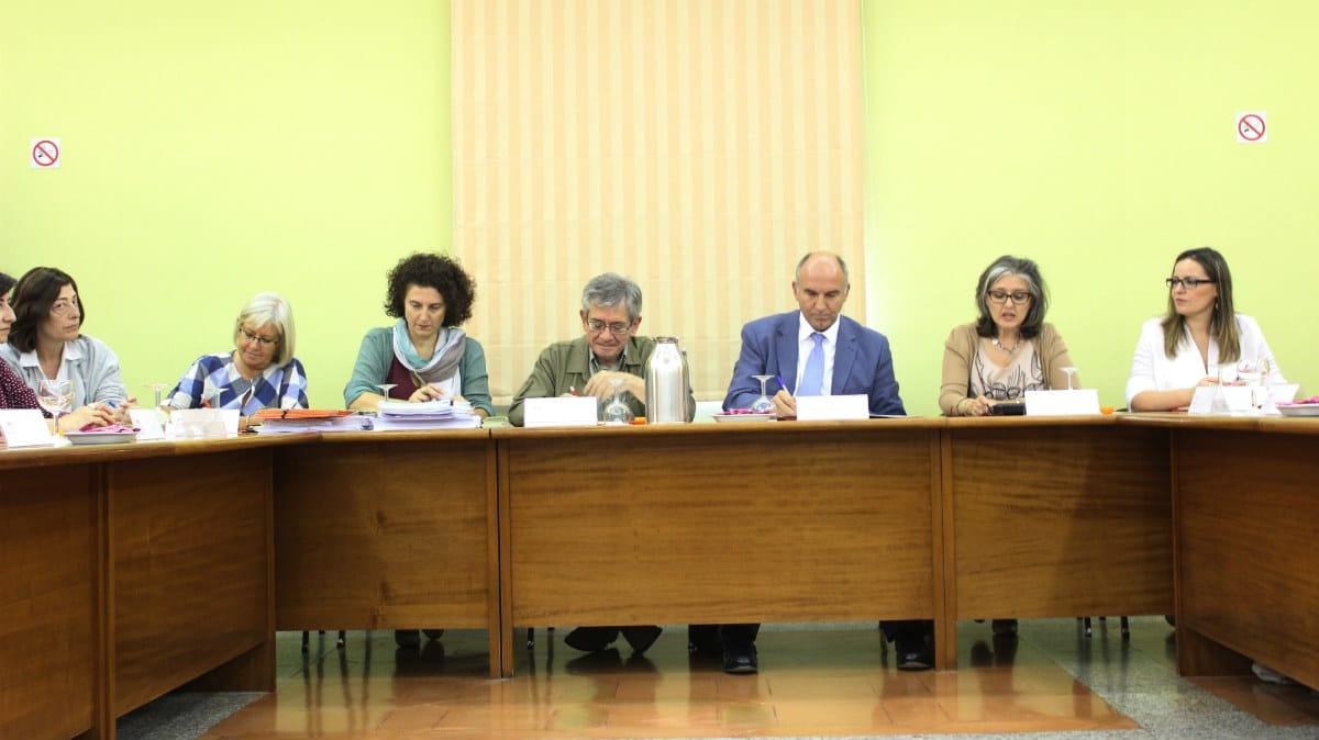 Mesa de autoridades en la inauguración del XVIII Encuentro Internacional de Evaluación y Planificación MUS-E