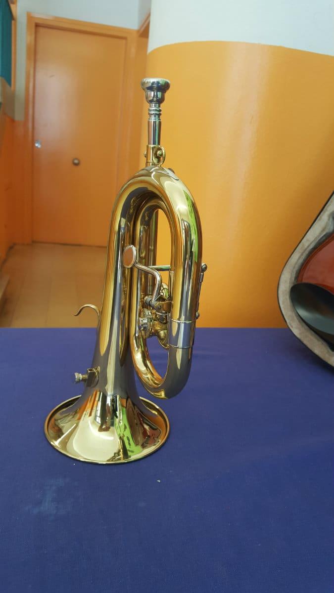 Trompeta donada por Consolat de Mar a la Escola Cal Maiol