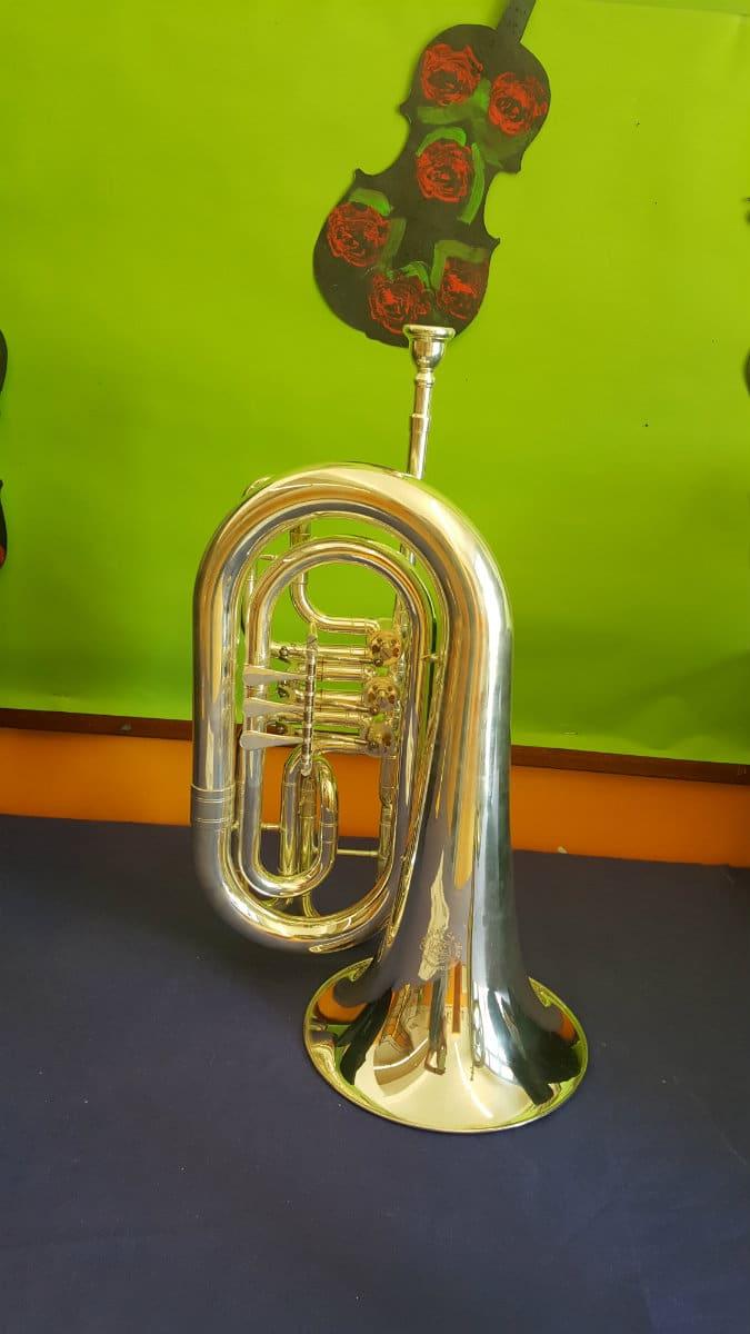 Tuba donada por Consolat de Mar a la Escola Cal Maiol