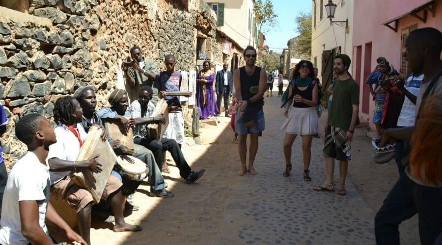 Imagen de uno de los viajes solidarios a Senegal de la FYME