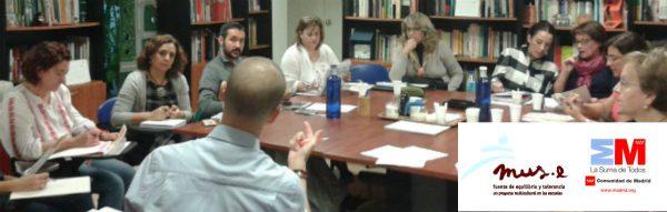 Formación MUS-E para docentes de la Comunidad de Madrid. Curso MUS-E 2016-2017.