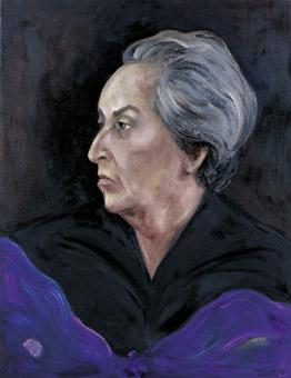 'Gabriela Mistral', por Sofía Gandarias.