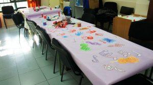 Trabajando los Violines por la Paz en el CPEE San Antonio de Ceuta, con Sonia Escolano
