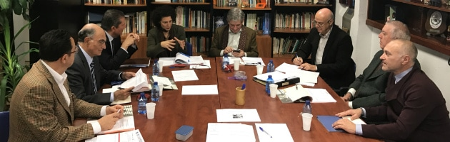 Reunión ordinaria del Patronato de la FYME, diciembre de 2016