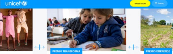 Presenta tu candidatura a los Premios UNICEF España 2017