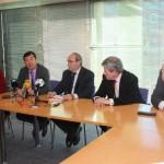 Rueda de prensa para la presentación de Escuela de Familias en Fuenlabrada