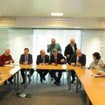 Reunión en Fuenlabrada para la firma del convenio del Proyecto Erasmus+ Escuela de Familias