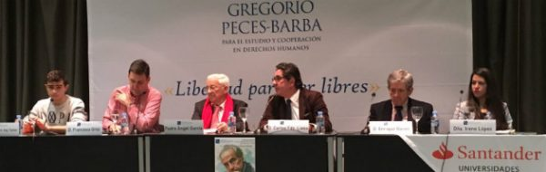 IV Jornada Gregorio Peces-Barba, con los niños y niñas del IES Julio Caro Baroja de Fuenlabrada